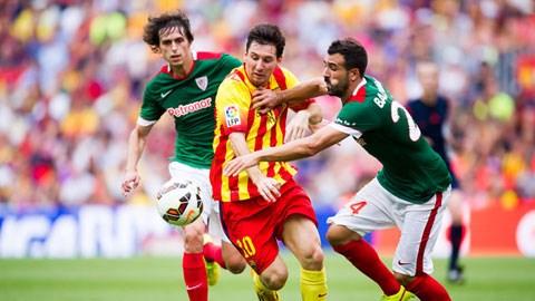 Bóng đá - Những điểm nhấn trong chiến thắng nhọc nhằn của Barca trước Bilbao