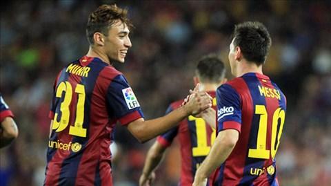 """Barca sẽ """"trói"""" Munir vào đầu năm 2015"""