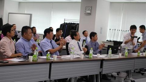 Bóng đá - BLĐ J-League làm việc với phái đoàn VPF