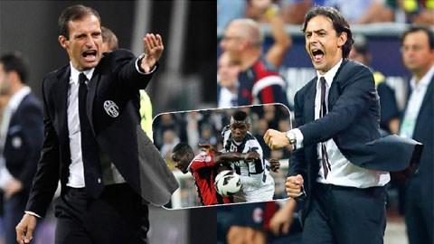 1 ngày trước đại chiến Milan - Juventus: Cố nhân tao ngộ