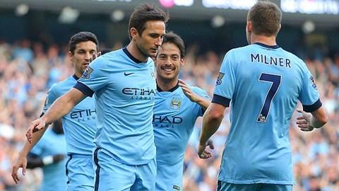 Man City 1-1 Chelsea: Lampard cứu Man xanh