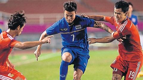 Thái Lan gặp chủ nhà Hàn Quốc ở vòng bán kết bóng đá nam Asiad 17