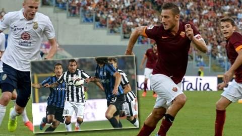Vòng 5 Serie A: Nổi lửa trên đỉnh