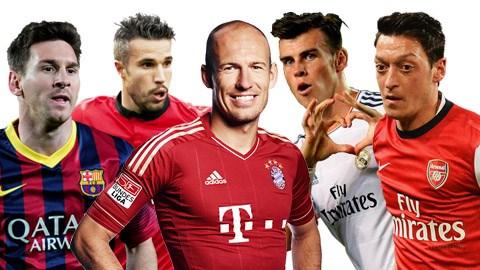 Đội bóng nào sở hữu nhiều cầu thủ thuận chân trái nhất châu Âu?