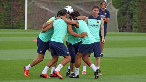 Lộ phương pháp huấn luyện thể lực của Barca