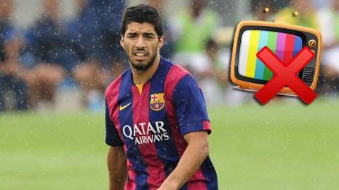 """Người Anh sẽ xem Suarez ra mắt tại """"Siêu kinh điển"""" muộn 15 phút"""