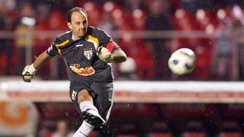 Thủ môn kỳ cựu Ceni ghi bàn thắng thứ... 123 trong sự nghiệp