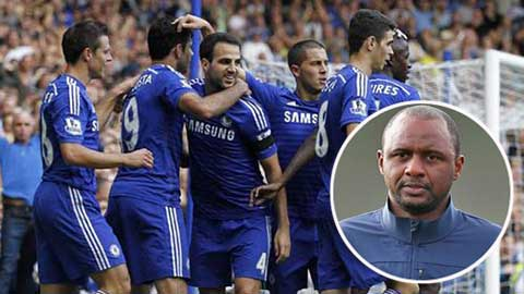 Vieira tin Chelsea sẽ bất bại Premier League mùa này
