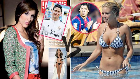 WAGs mới so kè, Barca đè Real