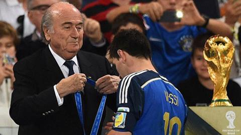Messi không xứng đáng đoạt QBV tại World Cup 2014