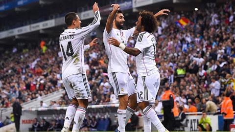 Những điểm nhấn trong trận đại thắng của Real Madrid tại cúp Nhà Vua