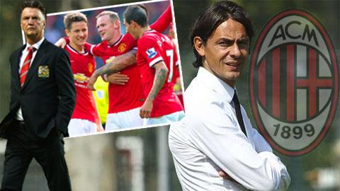 M.U và Milan sẽ đá giao hữu ở Trung Đông vào tháng 1/2015