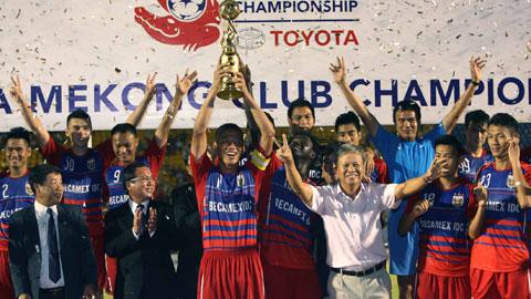 Bóng đá - Becamex Bình Dương vô địch Toyota Mekong Club Championship 2014