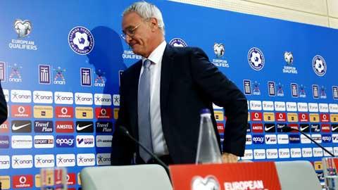 Bóng đá - Hy Lạp thua sốc Đảo Faroe 0-1: Ranieri bị sa thải!