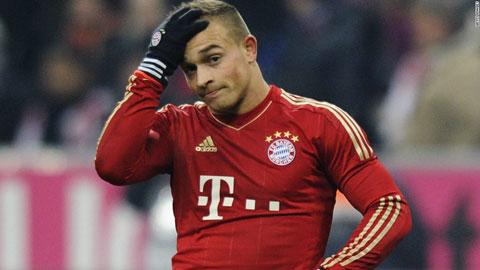 Bóng đá - Bayern sẵn sàng để Shaqiri ra đi với giá 20 triệu euro