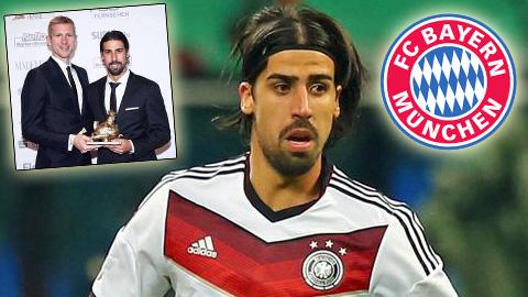 Khedira đạt thỏa thuận ghi nhớ gia nhập Bayern