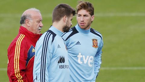 """Bóng đá - Ramos và Pique """"tái hợp"""" thành công!"""