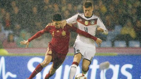 Bóng đá - Tây Ban Nha bị Đức đánh bại trên sân nhà: Năm hạn của La Roja!