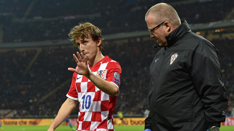 Sự trưởng thành của Luka Modric và khó khăn của Madrid