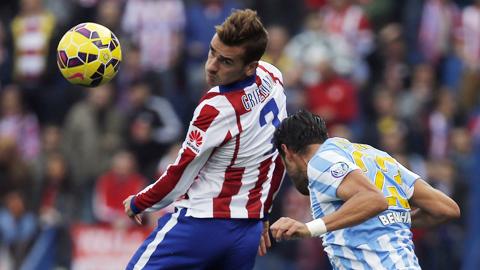 Atletico 3-1 Malaga: Tìm lại niềm vui chiến thắng