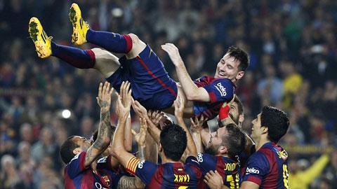 Barcelona 5-1 Sevilla: Messi đi vào lịch sử La Liga