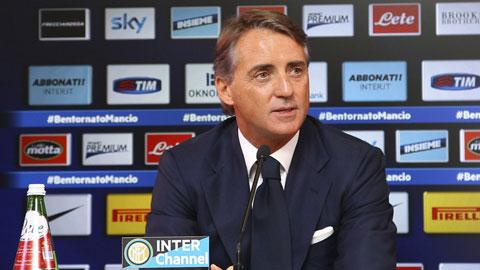 Mancini nói gì về trận derby Milan sau nhiều năm xa cách