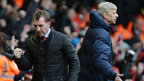 Wenger và Rodgers trước nguy cơ bị sa thải