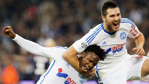 Marseille hướng đến chức vô địch mùa Đông