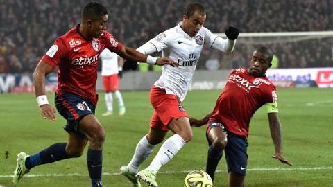 Bóng đá - PSG bị Lille cầm hòa: Lỡ cơ hội vàng