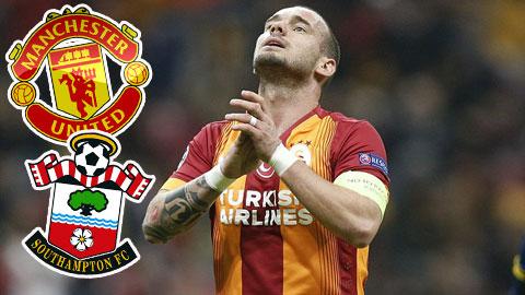Bóng đá - M.U và Southampton giành nhau Sneijder