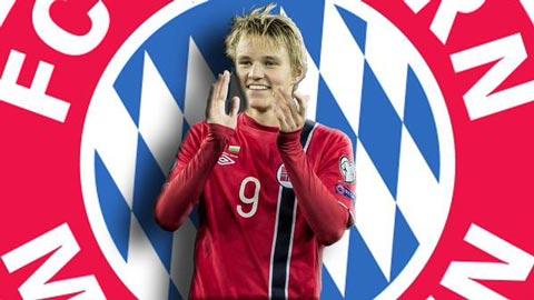 """""""Thần đồng"""" Odegaard thăm Arsenal, chuẩn bị gia nhập… Bayern Munich"""