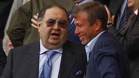 Abramovich và Usmanov mất trắng hơn 1 tỷ USD trong vòng 48 tiếng