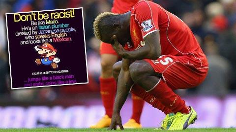 Bị cấm thi đấu vì phân biệt chủng tộc, Balotelli lỡ đại chiến Arsenal - Liverpool