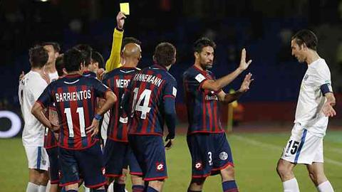 San Lorenzo đổi trọng tài thành công ở trận gặp Real