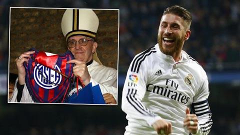 """Real Madrid là """"Đội bóng của Chúa""""!"""