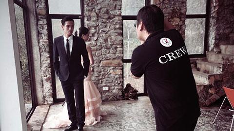 Văn Quyết đưa người yêu đi chụp ảnh cưới