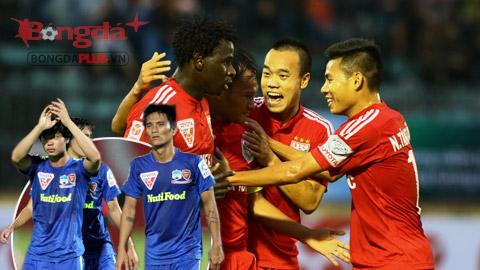 Bóng đá - Vòng 2 Toyota V.League 2015: Hoàng Anh Gia Lai ngã ngựa, B.Bình Dương tiếp đà chiến thắng