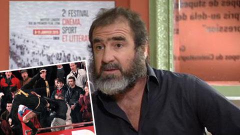Cantona hối tiếc vì không tung cú kung-fu... mạnh hơn