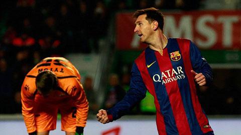 Bóng đá - Elche 0-6 Barca: Song sát Messi - Neymar lên tiếng