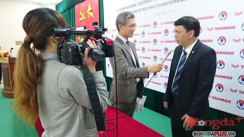 TTK VFF Lê Hoài Anh nói gì về HLV Miura với báo chí Nhật Bản?