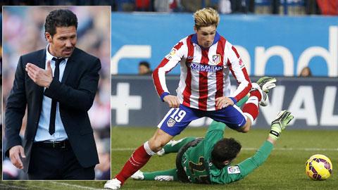 Bóng đá - Hàng công Atletico rối loạn bởi sự xuất hiện của Torres: Simeone bối rối vì thử nghiệm