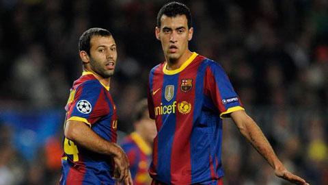 Enrique giúp Busquets và Mascherano hiệu quả hơn