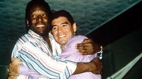 Maradona lại công kích Pele