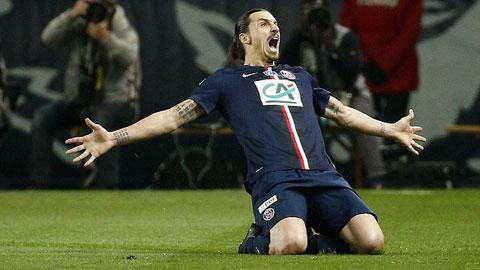 Bóng đá - Ibra lập hat-trick, PSG vào chung kết Cúp QG