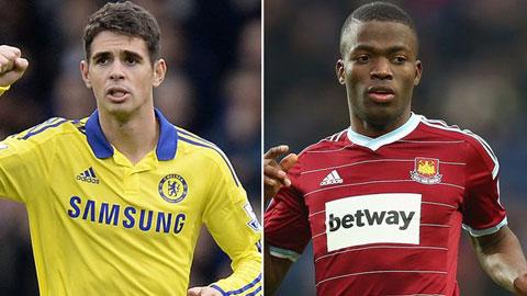 Chelsea rao bán Oscar, dọn đường đón Valencia