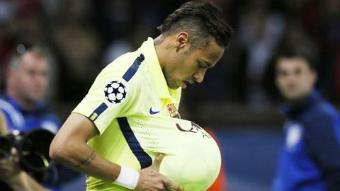 Giải mã động tác ăn mừng của Neymar
