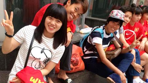Bóng đá - Hot-girl của ĐT nữ Việt Nam treo giày sang Nhật Bản du học