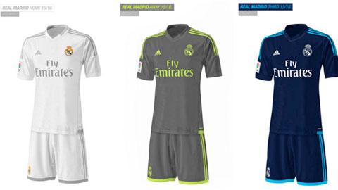 Bóng đá - Rò rỉ áo đấu mới đơn giản của Real Madrid