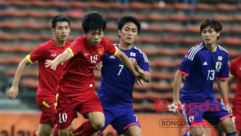 """Bóng đá - U23 Việt Nam chọn U23 Hàn Quốc làm """"quân xanh"""" trước thềm SEA Games 2015"""