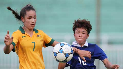 Giải vô địch nữ ĐNÁ: U20 Australia vào bán kết